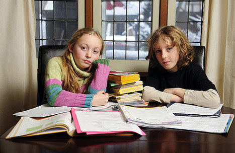 Homework a homewrecker: Report  | Toronto Star | PD resources for teachers | Scoop.it