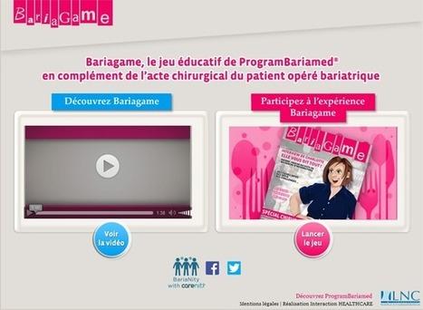 Un serious game dédié aux patients bariatriques | Santé numérique | Scoop.it