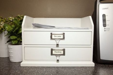 The Perfect Paper-flow Organizer | Home & Office Organization | Scoop.it