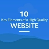10 Key Elements of a High Quality Website - New Infographic ~ Web Designer Pad   Web Trends   Scoop.it