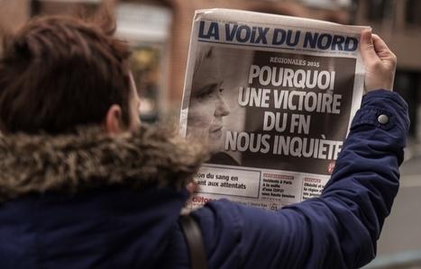 """Unes sur le FN: «""""La Voix du Nord"""" renoue avec la mission civique de la presse française»   DocPresseESJ   Scoop.it"""