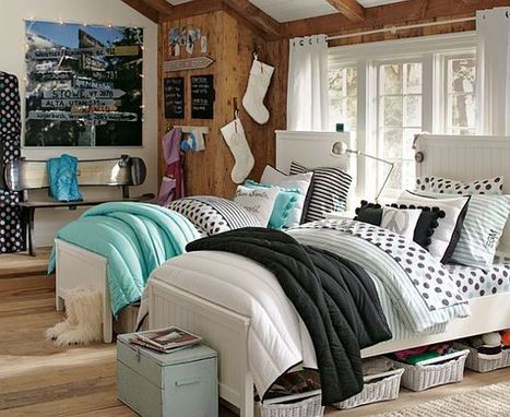 55 Room Design Ideas for Teenage Girls | Designing Interiors | Scoop.it