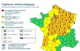 Jusqu'à 36°C, l'Alsace en jaune, ses voisins en orange | Alsace Actu | Scoop.it