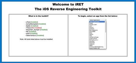 iRET – iOS Reverse Engineering Toolkit | SecTechno | Forensics | Scoop.it