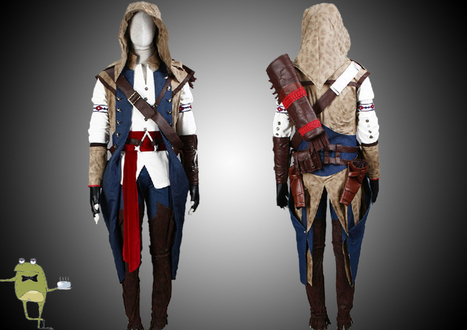Assassin's Creed Connor Kenway Cosplay Costume for Sale | Anime Cosplay Costumes | Scoop.it