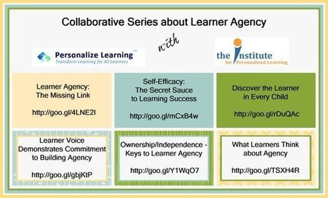 Building Learner Agency Conversations | Personalize Learning (#plearnchat) | Scoop.it
