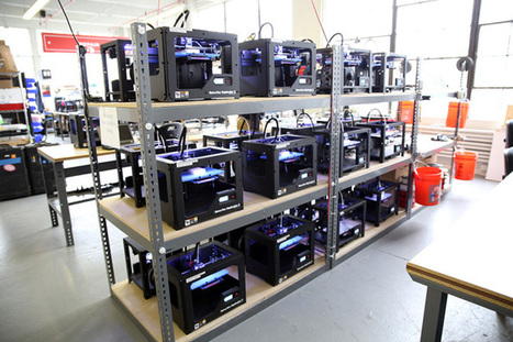 "MakerBot Comes To Select Home Depot Stores | TechCrunch | Buffy Hamilton's Unquiet Commonplace ""Book"" 