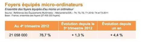 Paris Dauphine dresse le bilan 2012 de l'économie numérique française | Brocooli | Scoop.it