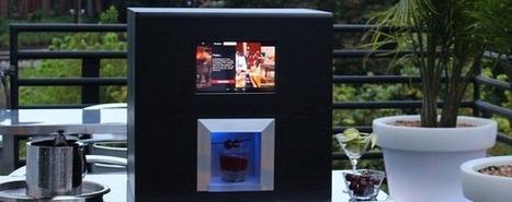 Monsieur, un robot spécialiste du cocktail   Hébergements touristiques, design et innovation   Scoop.it