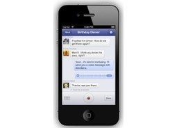 Facebook Adds Voice Messaging to Its Messenger App | Techie Bros | Gadget Guides | Scoop.it