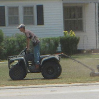 A Redneck Version of a Ride-On Lawn Mower | Intel Free Press | Scoop.it