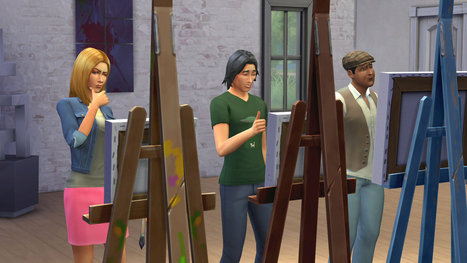 Why multitasking in The Sims 4 makes characters feel 'more believable' | Multitasking | Scoop.it