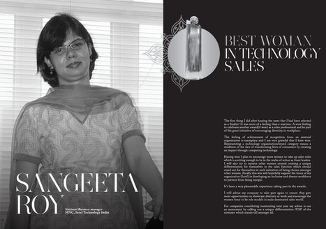 Sangeeta Ro National Business manager, MNC, Intel Technology Indi Best Woman In Technology Sales Winner | Women In Sales | Scoop.it
