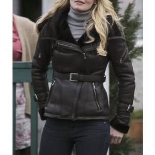 Emma Swan Once Upon A Time Black Jacket | T.V Series Celebrity Jackets | Scoop.it
