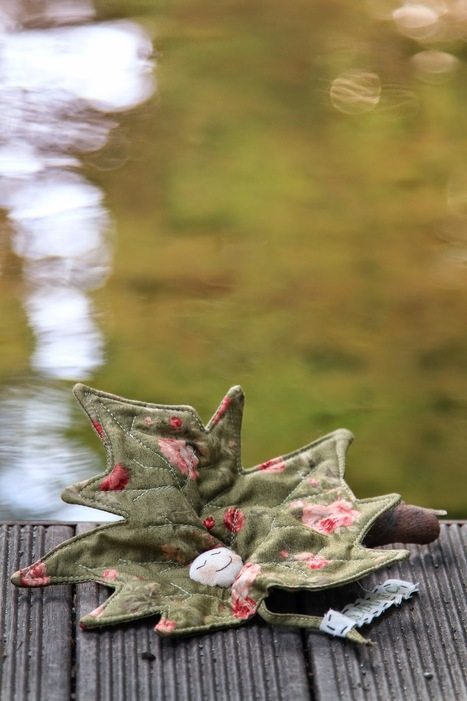 Shabby Home: Foglie sognanti, dreaming leaves... | Patchwork | Scoop.it