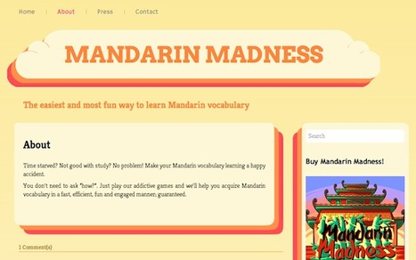 Mandarin Madness Tries to Offer Pain-free Chinese Language Learning Experience | TechNode | Digital Play | Scoop.it