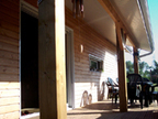 Ce qui m'a plu, c'est de pouvoir choisir un concept de maison économique, en bois, à 1 000 euros le m2, sans avoir tout d'imposé | Aboxia | Scoop.it