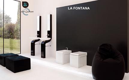 Collection de sanitaires de salle de bain LA FONTANA - TREEMME | Design de la salle bain | Scoop.it