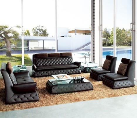 Dark Chocolate Contemporary Lounge Furniture | MeublesBH | Scoop.it