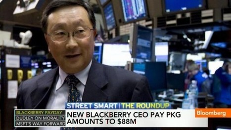 New BlackBerry CEO Pay Package Amounts to $88M - Bloomberg | BlackBerry | Scoop.it