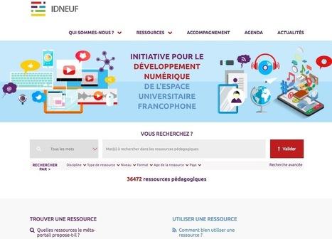 Un méta-portail des ressources pédagogiques universitaires francophones en Open Access | Education & Numérique | Scoop.it