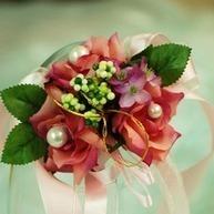 [US$ 3.99] Elegant Free-Form Satin/Cotton Wrist Corsage (124032015) | beautifuldresses | Scoop.it