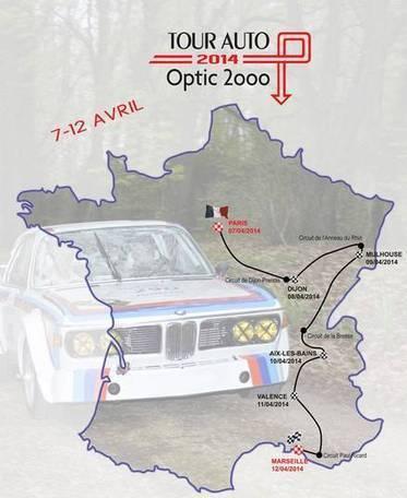 L'édition 2014 du Tour Auto Optic 2000 penche à l'Est | veille optique concurrents | Scoop.it