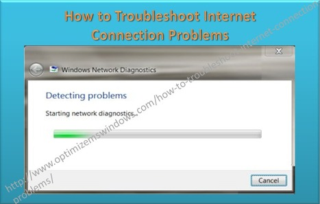 How to Troubleshoot Internet Connection Problems | Windows, Software and PC Performance | Scoop.it