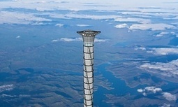 Going up? Space elevator could zoom astronauts into Earth's stratosphere | The NewSpace Daily | Scoop.it