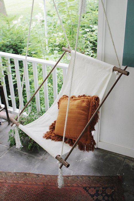 Ambitious & Awesome:  6 Fun DIY Stylish Projects for Outdoor Spaces - npw to find tree trunks | Eco Reality | Scoop.it