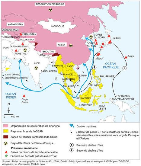 Les relations internationales de la Chine après la crise de 2008 — Géoconfluences | Ressources en Géographie | Scoop.it
