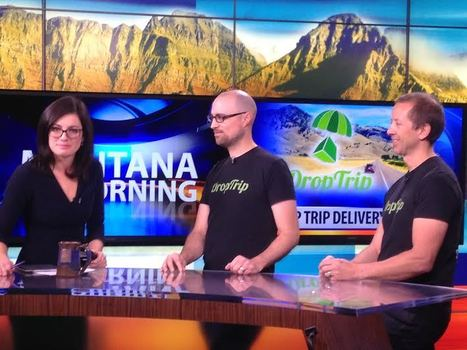 DropTrip Featured On KBZK Morning Show News - DropTrip | DropTrip - Shipping Reimagined | Scoop.it