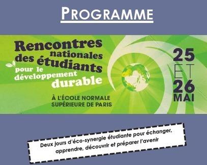 Rencontres Nationales des Etudiants pour le Développement Durable | Economie Responsable et Consommation Collaborative | Scoop.it