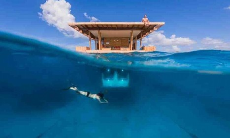 New underwater room unveiled off remote African island | Dive Travel News & Tips | Scoop.it