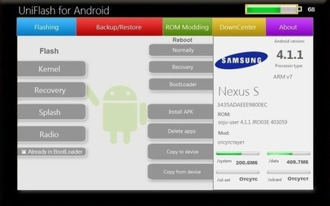 UniFlash: Manage Android Devices, Flash & Mod ROMs From Your PC | Time to Learn | Scoop.it