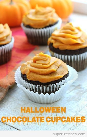 Gluten free Chocolate Cupcakes for Halloween | Recipes | Scoop.it