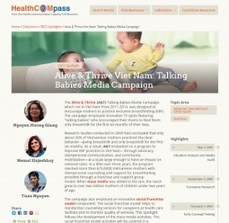 Breastfeeding Behavior Change Campaign in Vietnam on Health COMpass | Global Health and Social and Behavior Change Communication | Scoop.it