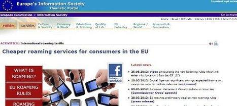 Dites au-revoir à l'internet mobile à coûts abusifs à partir du 1er juillet 2012 | La Fonderie | MeTourism | Scoop.it