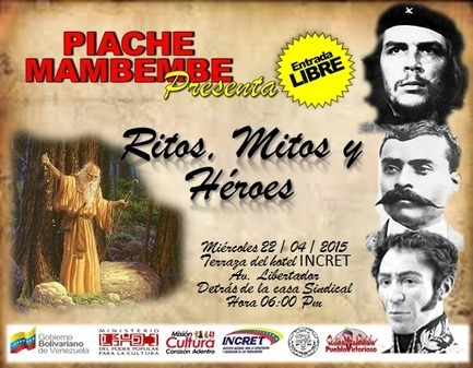 MinCultura Venezuela on Twitter | mitos y heroes | Scoop.it