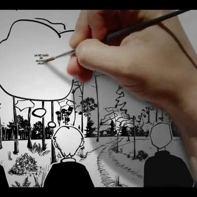 Prospective sur la forêt des Landes en 2050 – video scribing | La facilitation graphique | Facilitation graphique | Scoop.it
