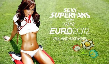 Sexy Superfans of Euro 2012 | Football Stadium Guides | Scoop.it