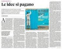 Le idee si pagano, lo dice anche Guido Guerzoni | Web Design e Social Media | Scoop.it