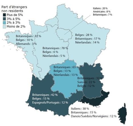 Immobilier : la France séduit toujours les Britanniques | Immobilier | Scoop.it