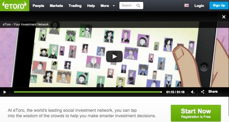 Join eToro: the World's Largest Online Social Trading & Investment Network http://ow.ly/o8xxw | Marketing_me | Scoop.it