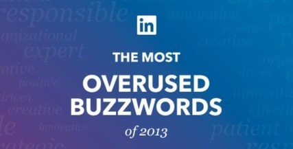 Top 10 Overused LinkedIn Profile Buzzwords of 2013 [INFOGRAPHIC] | Digital-News on Scoop.it today | Scoop.it
