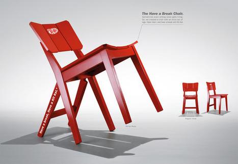 Kit Kat : un break, une chaise | Communication, marketing & agroalimentaire | Scoop.it
