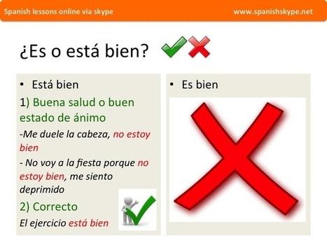 Ser estar   Aprender español online via skype   Scoop.it