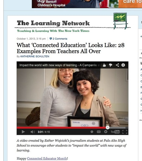 What 'Connected Education' Looks Like: 28 Examples From Teachers All Over | Connect All Schools | Scoop.it