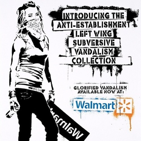 Until Today, Walmart Site Was Selling 'Destroy Capitalism' Print by ... | CityGraffiti | Scoop.it