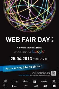 Le Mundaneum & le Data center de Google présentent le 1er Web Fair Day à Mons! | WEBOLUTION! | Scoop.it